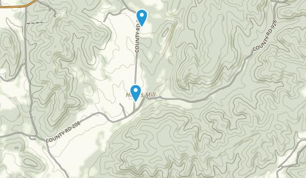 Amidon Memorial Conservation Area Map
