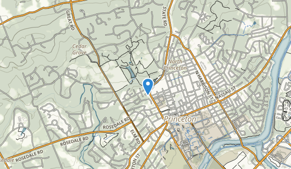 Community Park North Map