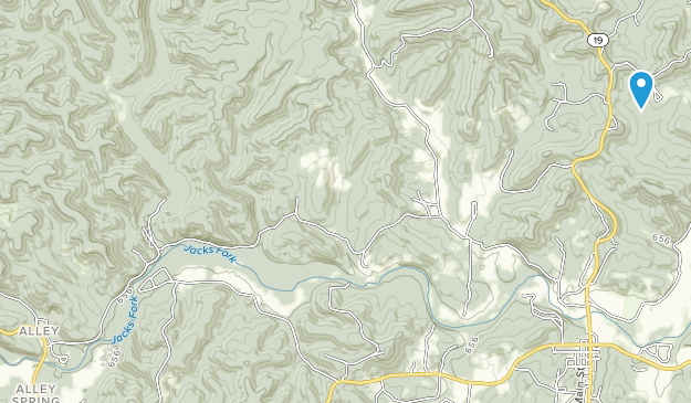 Angeline Conservation Area Map