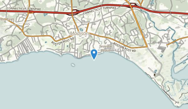 East Wharf Beach Park Map