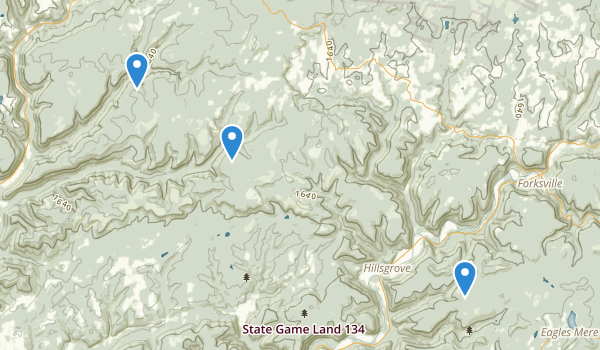 Loyalsock State Forest Map