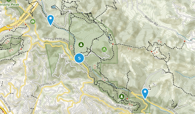 Reserva Regional Volcánica Robert Sibley Map