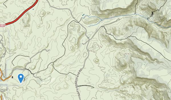 Montezuma Well National Monument Map