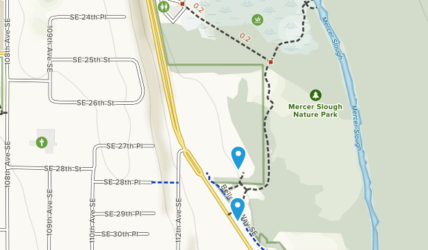Mercer Slough Nature Park Map