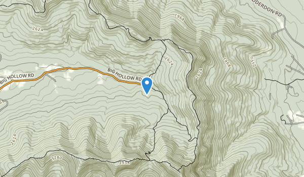 Border Windham/Blakehead Map