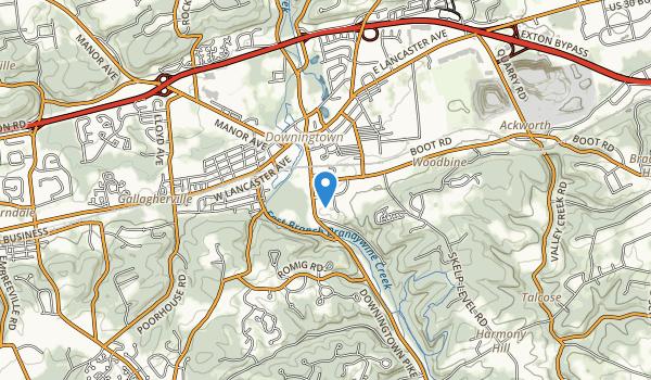 trail locations for Kardon Park