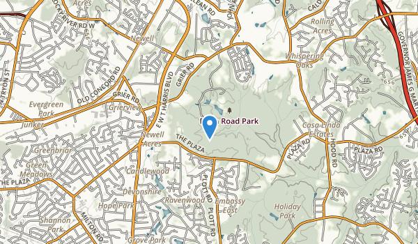 Reedy Creek Park Map
