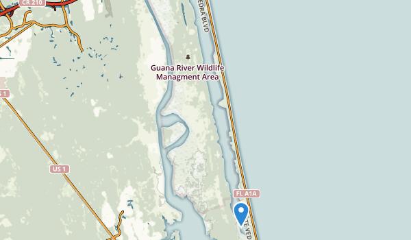 GTM National Estuarine Research Reservation Map