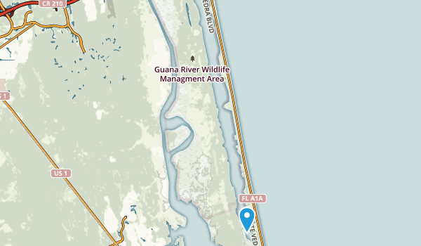 GTM National Estuarine Research Reservation Map