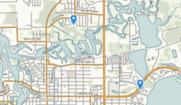 trail locations for Brittany Park