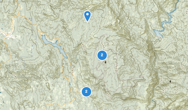 trail locations for Whisky Snowmobile Area