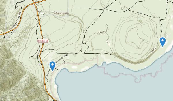 Mono Lake Park Map