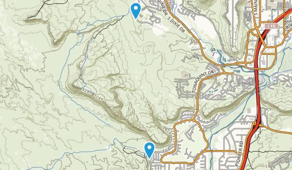 Bloomington Park Map