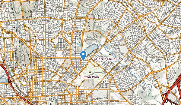 Clifton Park Map