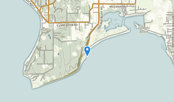 Double Bluff  Park Map