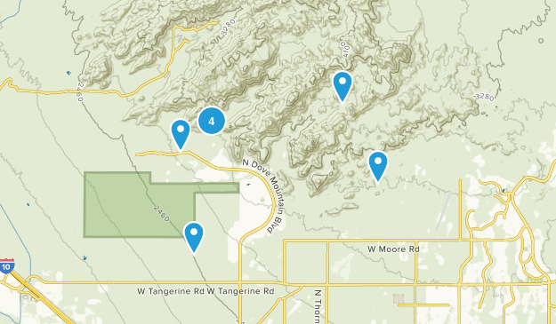 Tortolita Mountain Park Map