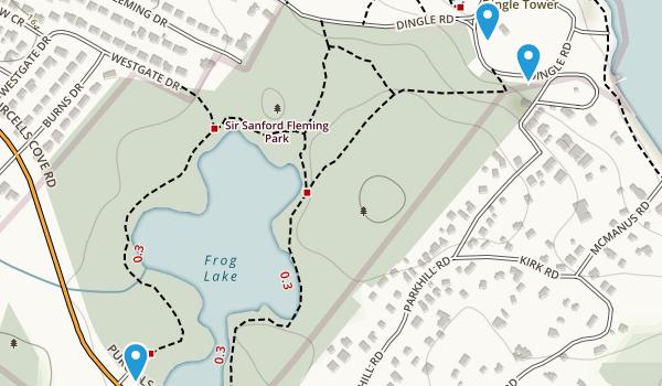 Sir Sandford Fleming Park Map