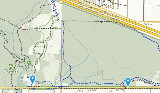 Tynehead Regional Park Map