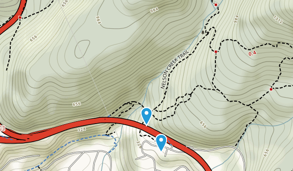 Nelson Canyon Park Map