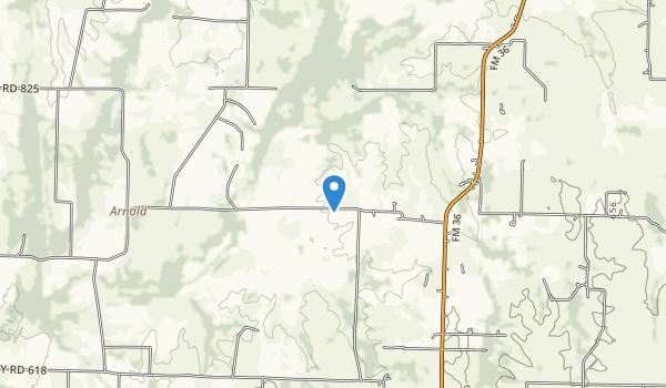 trail locations for Parkhill Prairie