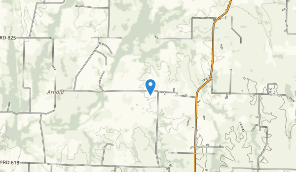 Parkhill Prairie Map