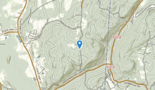 Cranberry Mountain Multiple Use Area Map