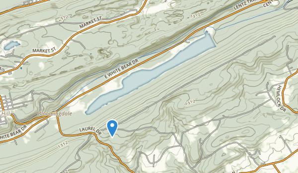 Mauch Chunk Lake Park Map