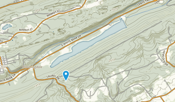Mauch Chunk Lake Park Map