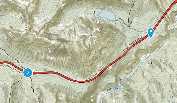 Coquihalla Summit Recreation Area Map