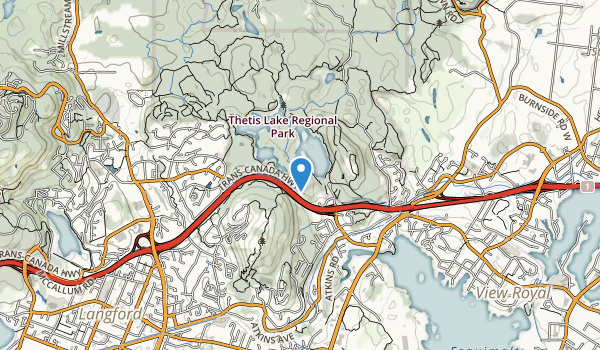 Francia King Regional Park Map