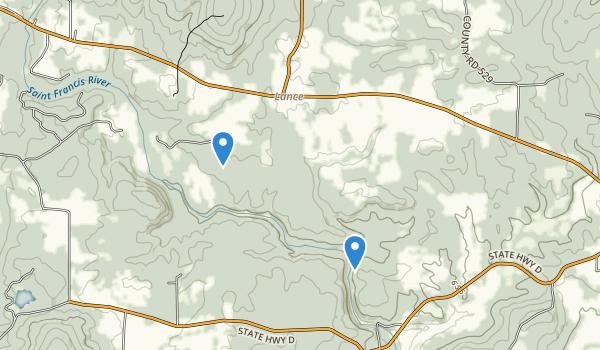 Millstream Gardens Conservation Area Map