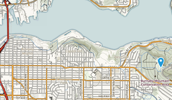 Montrose Park Map