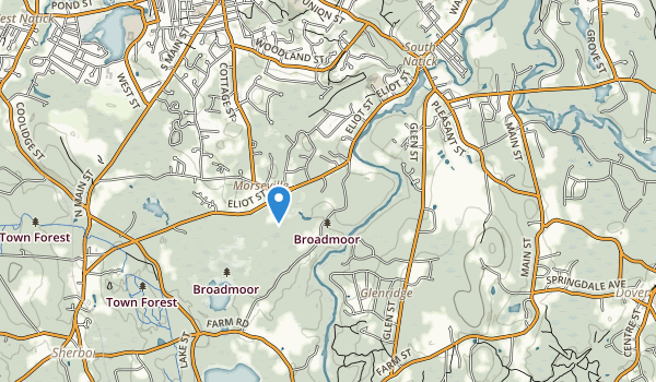 Broadmoor Wildlife Sanctuary Map