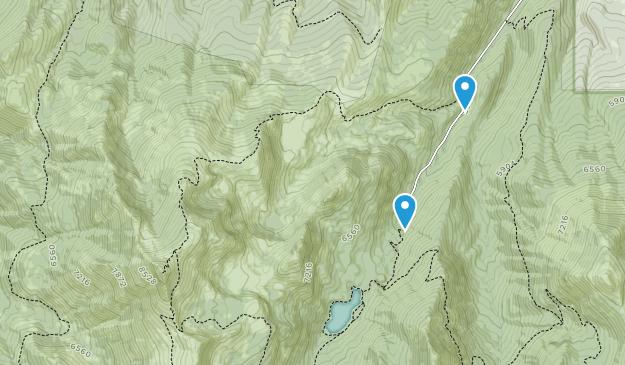 Desierto de montaña de fresa Map