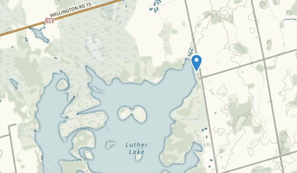 Lutter Marsh Conservation Area Map