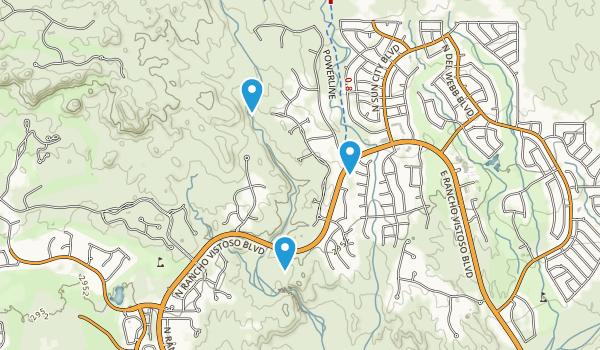 Honey Bee Canyon Park Map
