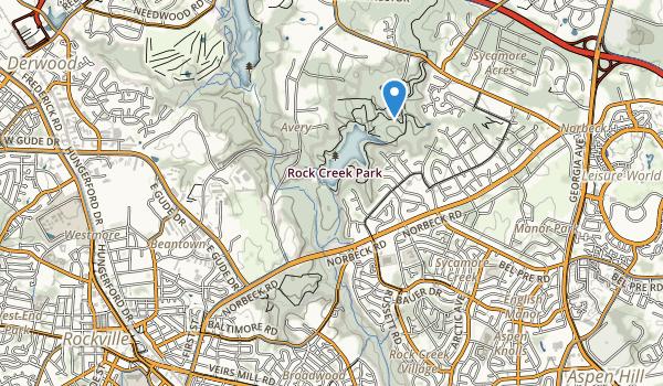Rock Creek Regional Park Map
