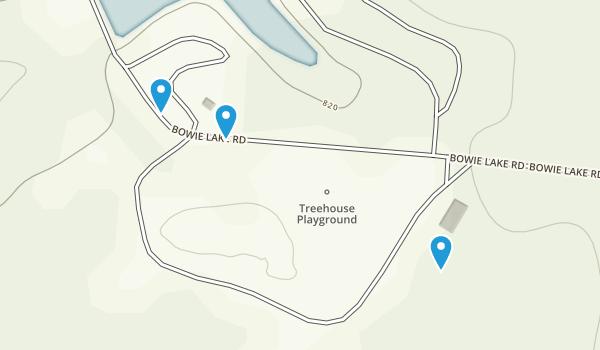 Bowie Nature Park Map