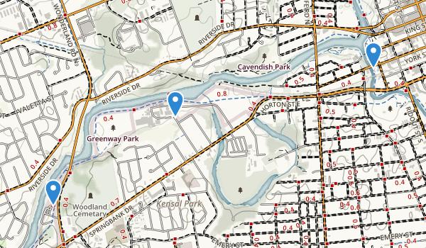 Greenway Park Map