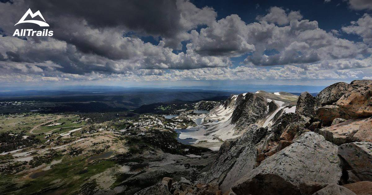 best trails in medicine bow national forest