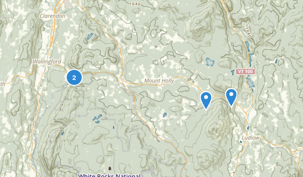 Okemo State Forest Map