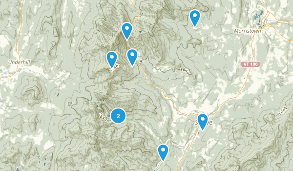 Mt Mansfield State Forest Map