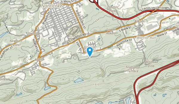 Hanover Recreation Club Park Map