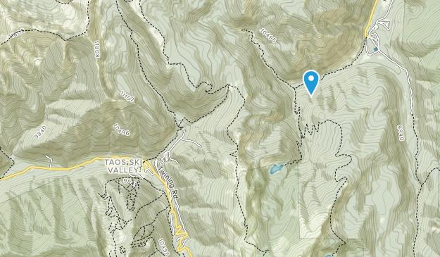 Wheeler Peak Wilderness Map