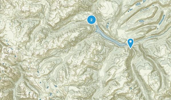 Weminuche Wilderness Map