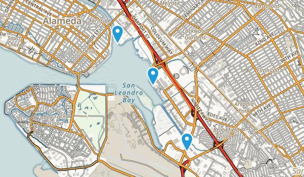 Martin Luther King Jr Regional Shoreline Map