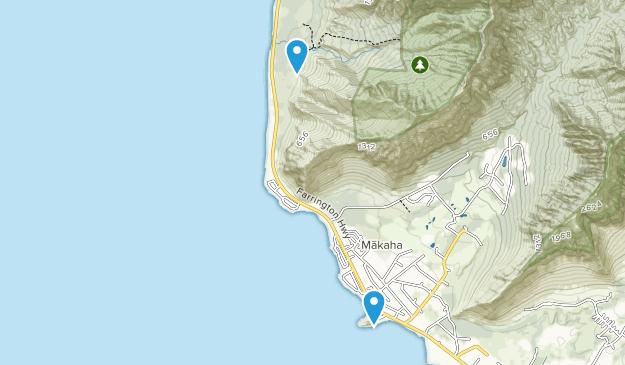 Makua Keaau Forest Reserve Map