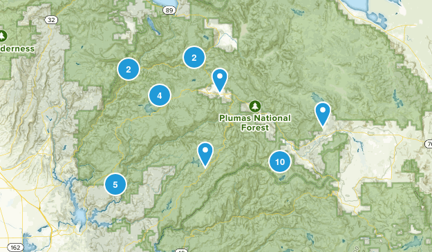 Plumas National Forest Map