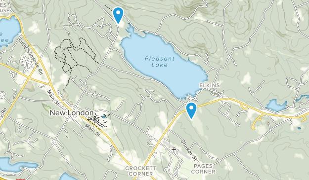 Low Plain Natural Area Map