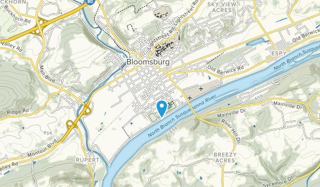 Bloomsburg Town Park Map